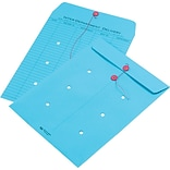 Quality Park String & Button Brightly Colored One-Sided Standard Style Inter-Department Envelopes, 1