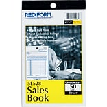 Rediform Sales Book Selling Form, Carbonless, 3 Part, 4-1/4x6-3/8