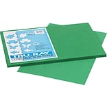 Tru-Ray® Sulphite Construction Paper, 12 x 18, Holiday Green, 50 Sheets