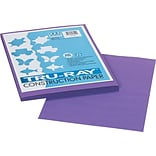 Pacon Tru-Ray Construction Paper 12 x 9, Violet, 50 Sheets (103009)