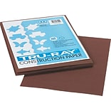 Pacon Tru-Ray Construction Paper 12 x 9, Dark Brown, 50 Sheets (103024)