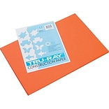 Pacon Tru-Ray Construction Paper 18 x 12, Orange, 50 Sheets (103034)