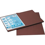 Tru-Ray® Sulphite Construction Paper, 12 x 18,Dark Brown, 50 Sheets