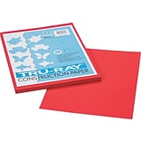 Tru-Ray® Sulphite Construction Paper, 9 x 12, Festive Red, 50 Sheets