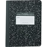 Roaring Spring Black Marble Composition Book, 9.75 x 7.5, 60 Sheets