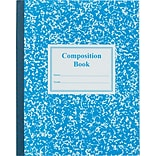 Roaring Spring Center Sewn Grade School Ruled Composition Book, 9 3/4 x 7 3/4, Blue Cover