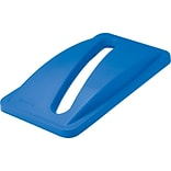 Rubbermaid Vented Slim Jim® Lid, Blue