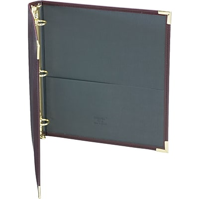Samsill® Classic Collection Ring Binders, Burgundy, 200-Sheet Capacity, 1 (Ring Diameter)