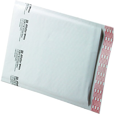 Jiffylite® Self-Seal Mailer, Side Seam, #2, 8-1/2x12, White, 100/CT