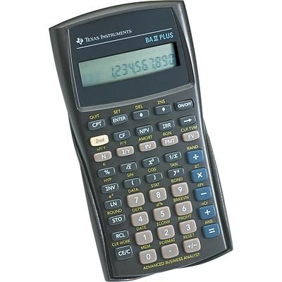 Texas Instruments Baii Plus Calculator  QuillCom