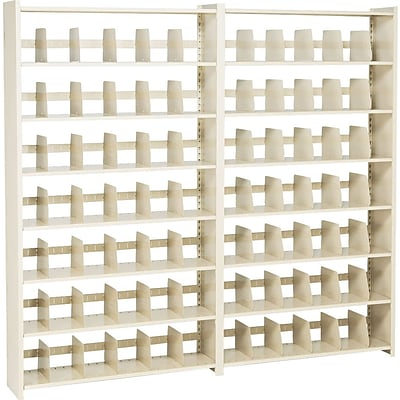 Tennsco® Snap-Together Shelving, 48x88, 7 Shelves, Closed Add-On Unit