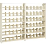 Tennsco 76Hx48W Snap-Together Shelving