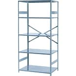 Tennsco 75x36x24 5-Shelf Comm. Shelving