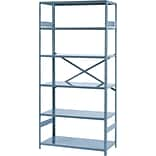 Tennsco 75x36x18 6-Shelf Comm. Shelving