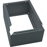 Tennsco Locker Base for Tennsco Lockers, 6H x 13W x 18D, Gray