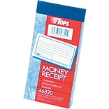 Money/Rent Receipt Book-Multiple Parts,  2-Part