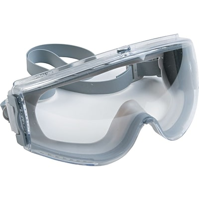 Sperian Stealth® Safety Goggles, Polycarbonate, Uvextreme, Clear, Gray