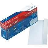 Columbian Redi-Strip™ Redi-Strip™ Business #10 Envelopes, 4 1/8 x 9 1/2, White, 45/Bx (WEVCO142)
