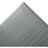 Crown Ribbed Vinyl Anti-Fatigue Mat, 36 x 60, Gray