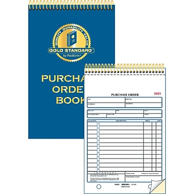 Gold Standard® Purchase Order Book
