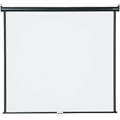 Quartet® Wall/Ceiling Projection Screen, 60 x 60, High-Res, Matte Surface