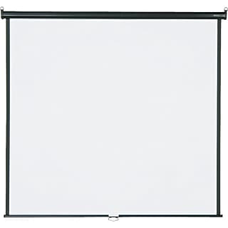 Quartet® Wall/Ceiling Projection Screen, 70 x 70, High-Res, Matte Surface