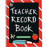 Teacher Record Book, Spiral-Bound, 8 1/2 x 11, 64 Pages