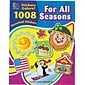 Sticker Books, For All Seasons, 1,088 Assorted Stickers/Pk