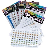 Mini Stickers Variety Pack, 6 Designs, 3,168 Stickers/Pk