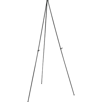 Quartet® Instant Easel®, 63, Portable Tripod, Supports 5 lbs., Collapsible