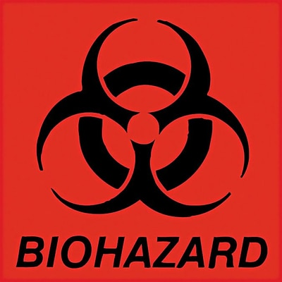 Unimark® Biohazard Decal