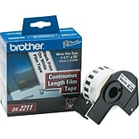 Brother P-Touch® Label Printer Film Labels; DK2211, White, 50 x 1-1/7