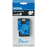 Brother® P-Touch 3/8 Black on White Tape, TC20Z1