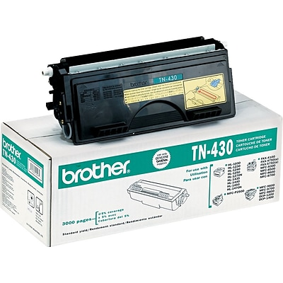 Brother Genuine TN430 Black Original Laser Toner Cartridge