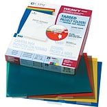 Project Folders W/ Index Tabs, Assorted