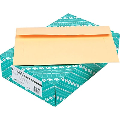 Quality Park™ Filing Envelopes, Cameo Buff, 100/Box (89606)