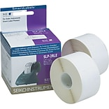 Seiko® Self-Adhesive Address Labels, 260 Labels Per Roll, White, 1 1/2H x 3 1/2W, 520 Labels/Bx