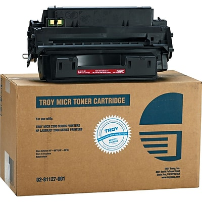 Troy® 0281127001 10A Compatible MICR Toner, 6,300 Page-Yield, Black