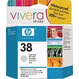 HP 38 Light Gray Ink Cartridge (C9414A)