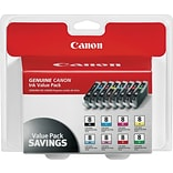 Canon® CLI-8 Photo Value Pack, Multi-pack (8 cart per pack)