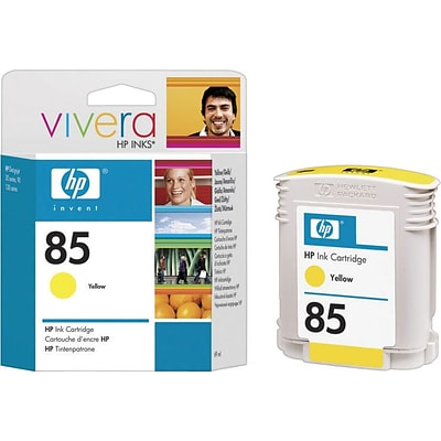HP 85 Yellow Ink Cartridge (C9427A), 69ml