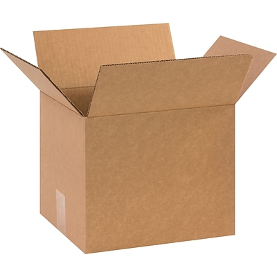 11.25 x 8.75 x 8 Shipping Boxes, 32 ECT, Brown, 25/Bundle (1188SC)