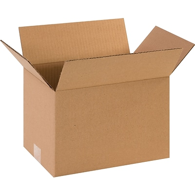 12 x 8 x 8 Shipping Boxes, 32 ECT, Brown, 25/Bundle (1288)