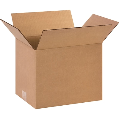 12 x 9 x 10 Shipping Boxes, 32 ECT, Brown, 25/Bundle (12910)