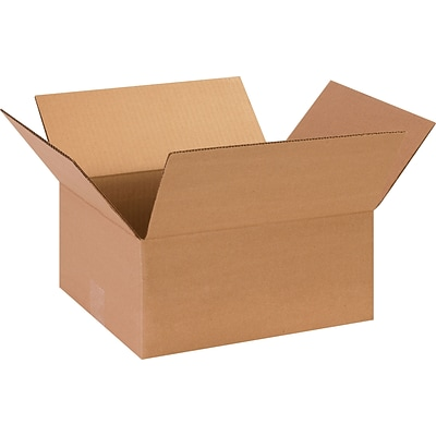 13 x 11 x 6 Shipping Boxes, 32 ECT, Brown, 25/Bundle (13116)