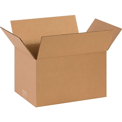 14 x 10 x 8 Shipping Boxes, 32 ECT, Brown, 25/Bundle (14108)