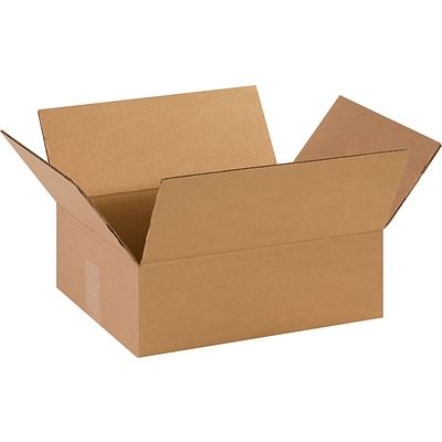 14 x 11 x 4.5 Shipping Boxes, 32 ECT, Brown, 25/Bundle (14114)