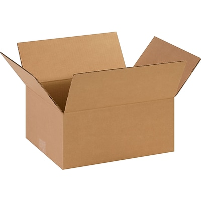 14 x 11 x 6 Shipping Boxes, 32 ECT, Brown, 25/Bundle (14116)