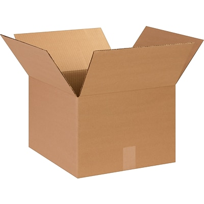 14 x 10 x 5 Shipping Boxes, 32 ECT, Brown, 25/Bundle (14105)