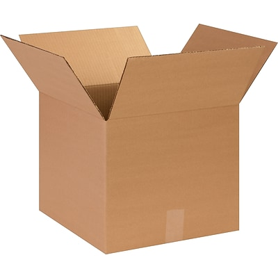 14 x 14 x 12 Shipping Boxes, 32 ECT, Brown, 25/Bundle (141412)